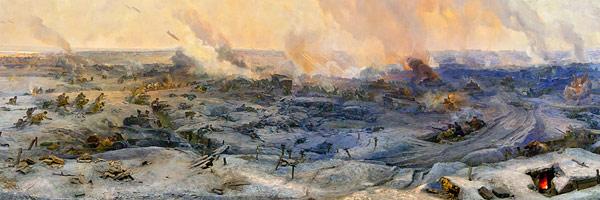 панорама разгром немецко-фашистских войск под Сталинградом