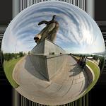 У подножья скульптуры Родина-мать виртуальная панорама